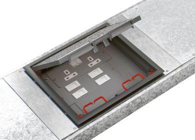 Cablelink Plus Flush Floor System