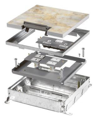 Onix Plus Standard Screeded Lids 2-3 & 4 Compartment Boxes & Accessories