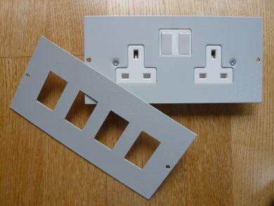 3 Compartment Plates