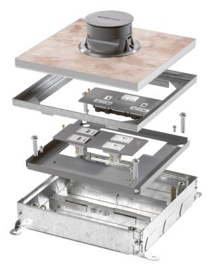 Onix Plus Systems Sceeded Floor Boxes