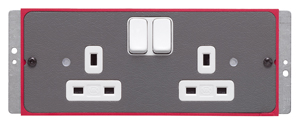 PLATE 2G SWITCH SOCKET