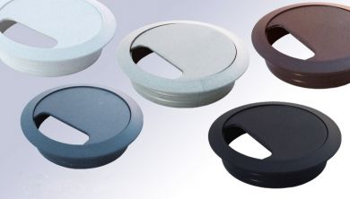 80mm Desk Grommet Various Colours