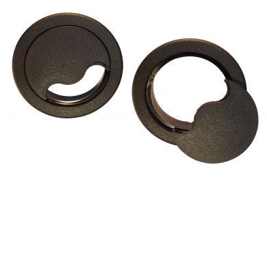 ZAG002B 75mm Access Grommet Black