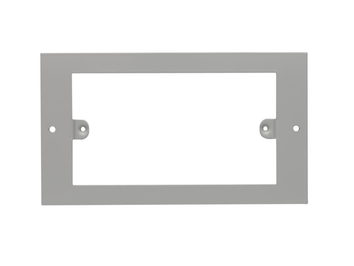 2 gang Outlet Plate 3 Comp