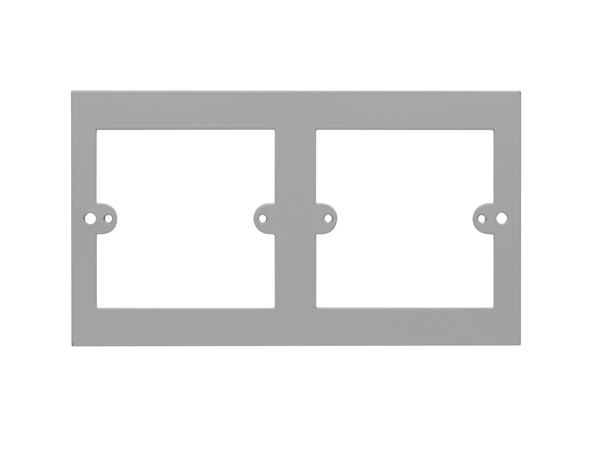 2 x Euro Adaptor Plate 3 Compt