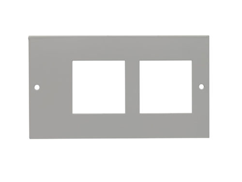 2 x Euro Adaptor Plate 4&2 Compt