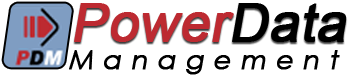 Power Data Management Logo