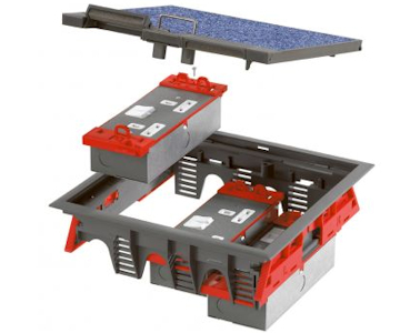 Ackermann Floor Boxes