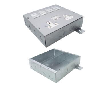 2 Compartment Slab Box